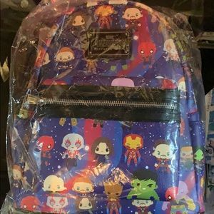 18ef54207a Marvel Bags - Avenger Infinity War Mini Backpack by Loungefly